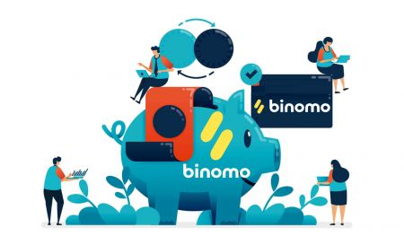 Como depositar fundos no Binomo