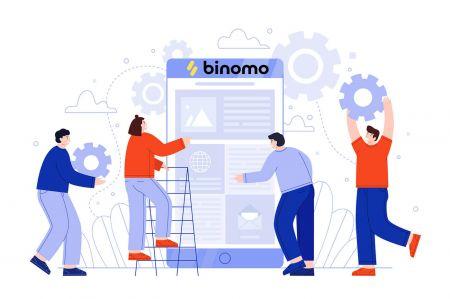 Como criar uma conta e registrar-se no Binomo